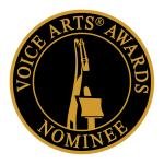 Voice Arts Awards Nominee seal